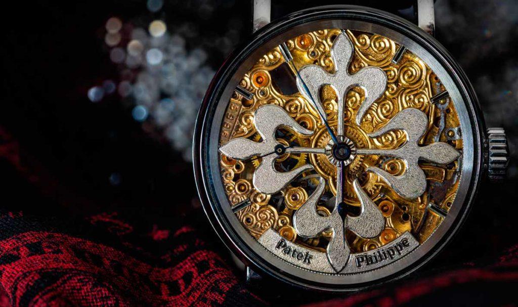 Patek Philippe Uhr mit Calatrava-Kreuz